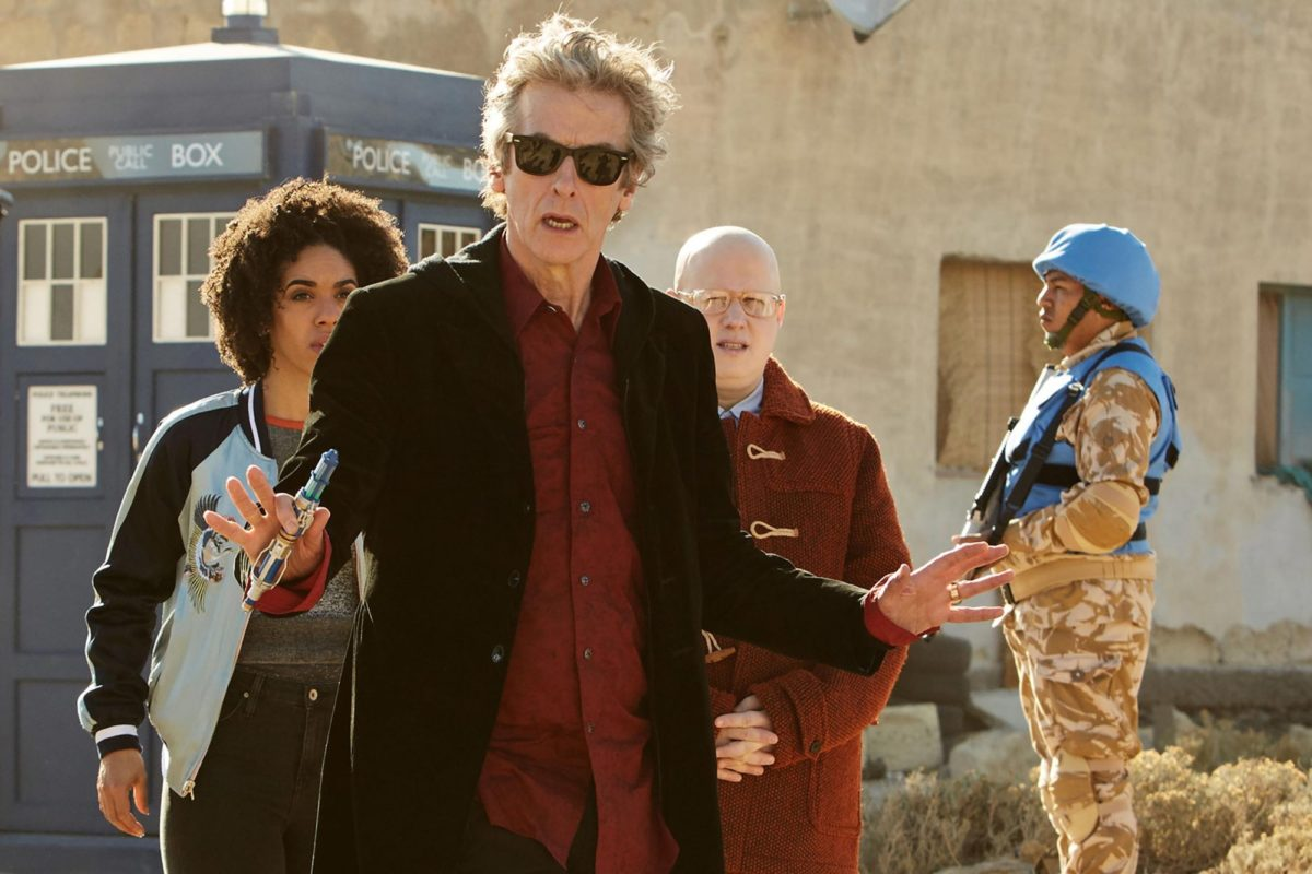 Doctor Who 10X07 recap The Pyramid at the End of the World