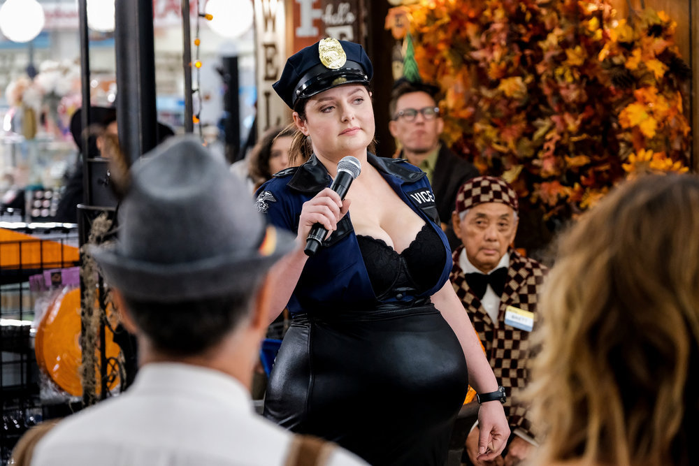 superstore halloween costume competition