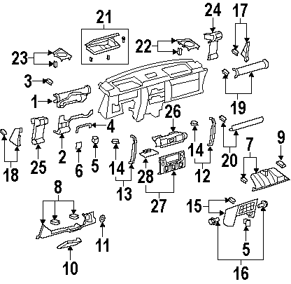 2007 dodge caliber ac wiring diagram 3 5 mm plug fj cruiser oem accessories - from pure