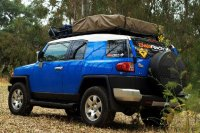 Baja Rack FJ Cruiser Expedition Rack for Roof Top Tents ...