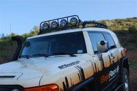 Baja Rack LightBar for use on FJ Cruiser OEM Roof Rack [BR ...