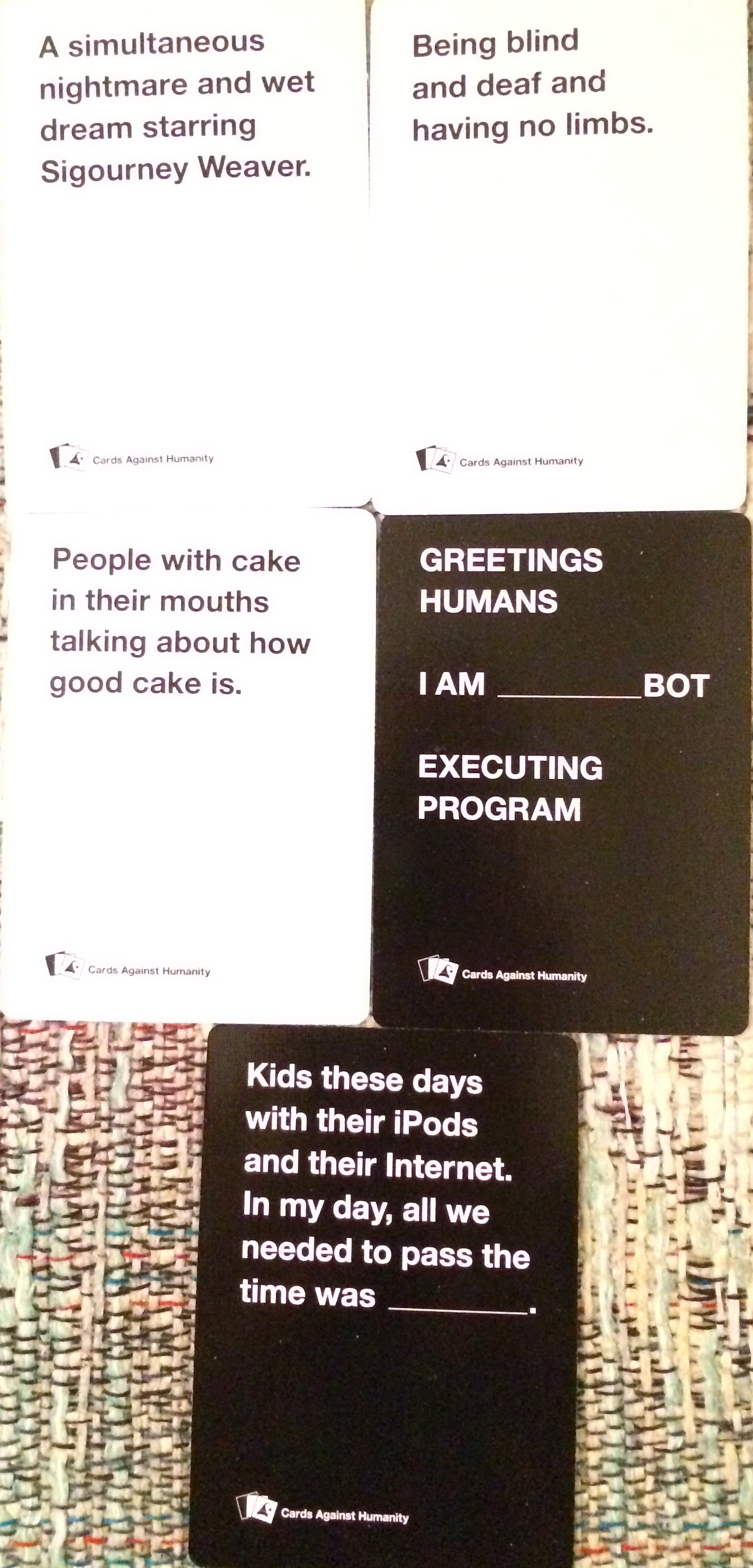Cards Against Humanity Holiday Bullshit 6 7 Amp 8 Pure