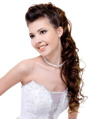 wedding hair pure design
