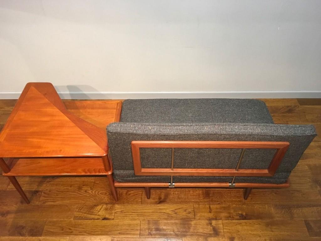 teak sofa table wood arm france and son danish pure imagination