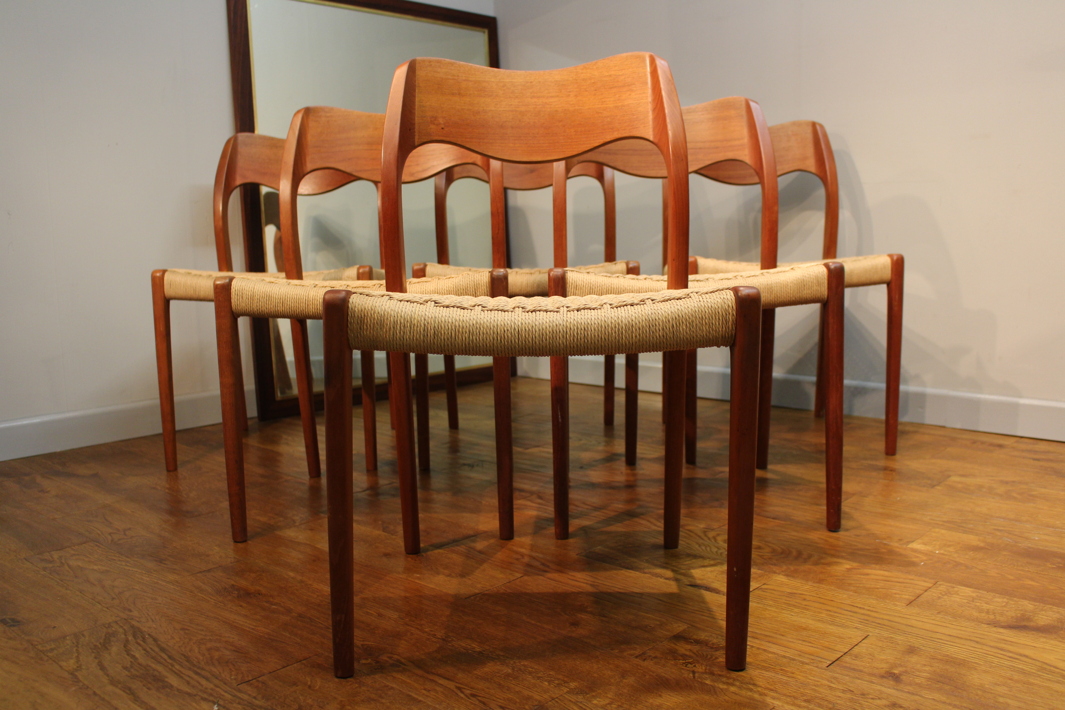 danish dining chair anti gravity kohls 6 niels moller 71 j l teak modern
