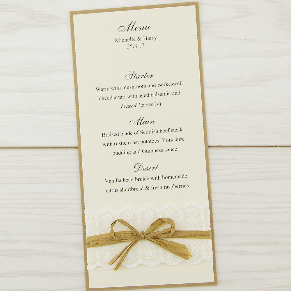 Rustic Wedding Invitations Make