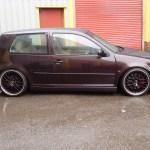 Bbs Audi Speedline Wheels On Vw Golf Mk4 Show Car Pureklas