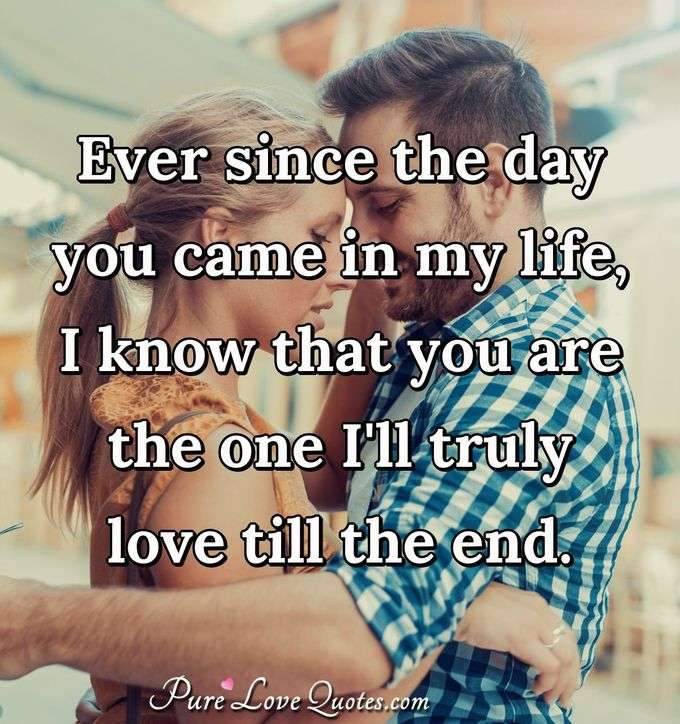 Quotes About Love: Ill Be Loving You All My Life