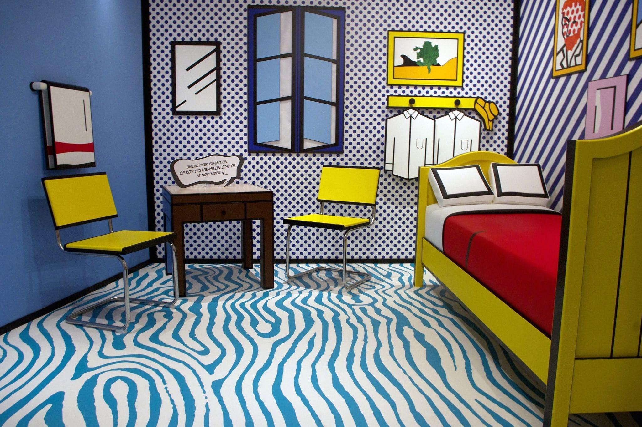 Roy Lichtenstein na exact 50 jaar weer terug in Amsterdam