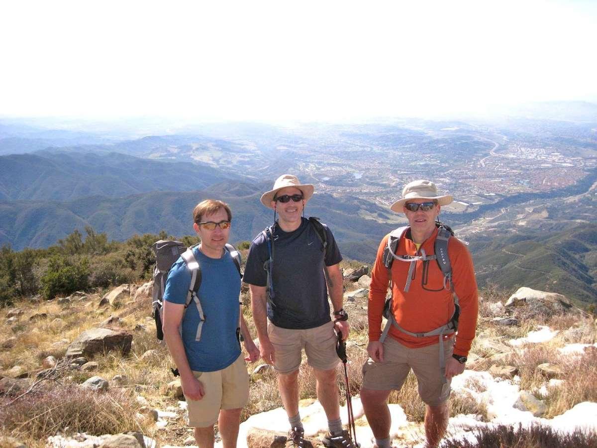 Hike to Santiago Peak