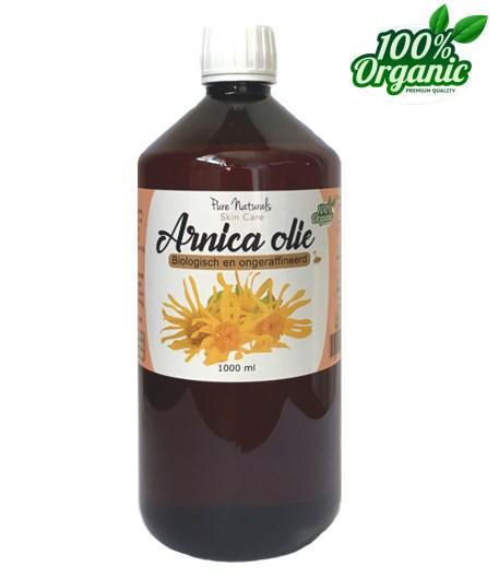 Arnica olie maceraat sportmassage blauwe plekken biologisch