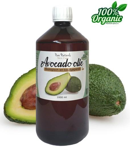 Avocado olie liter groothandel huidveroudering DIY