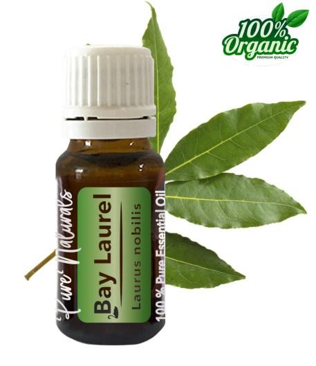 laurier essentiële olie - organic - biologisch - pure naturals