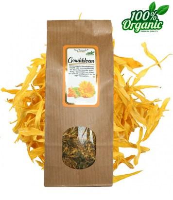 gedroogde goudsbloem calendula kruiden thee