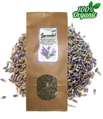gedroogde lavendel kruiden thee