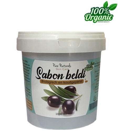 sabon beldi zwarte Marokkaanse olijvenzeep biologisch groothandel