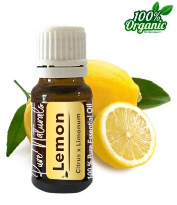 citroen olie essentiële olie - organic - biologisch - pure naturals