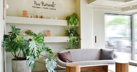pure naturals salon