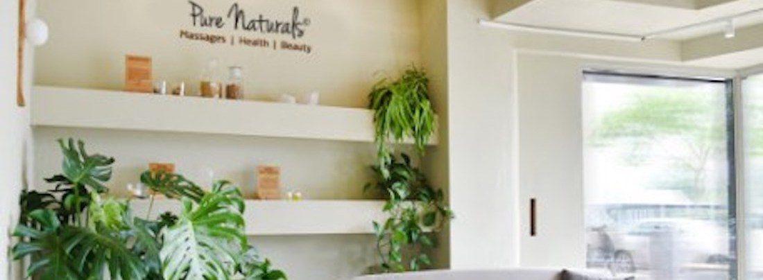 Pure Naturals verkoop punten salons natuurlijke producten