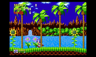 As seen in this screenshot, objects such as trees now appear in the foreground