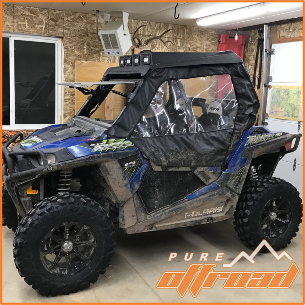 medium resolution of 2017 polaris rzr 900 trail with aftermarket wheels and tires