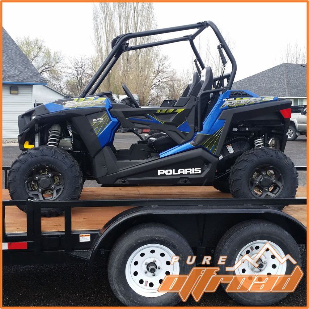 medium resolution of 2017 polaris rzr 900 trail with stock rims and tires