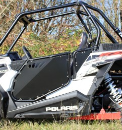 modquad rzr xp 1000 black aluminum full doors [ 4108 x 2370 Pixel ]