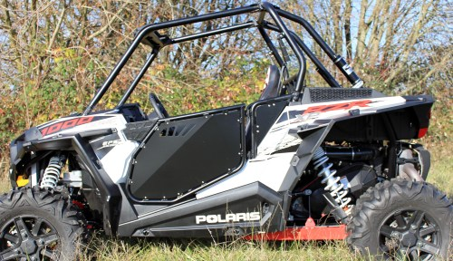 small resolution of modquad rzr xp 1000 black aluminum full doors