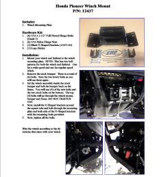 honda pioneer winch wiring block and schematic diagrams u2022 gorilla atv winch wiring schematics at [ 1275 x 1650 Pixel ]