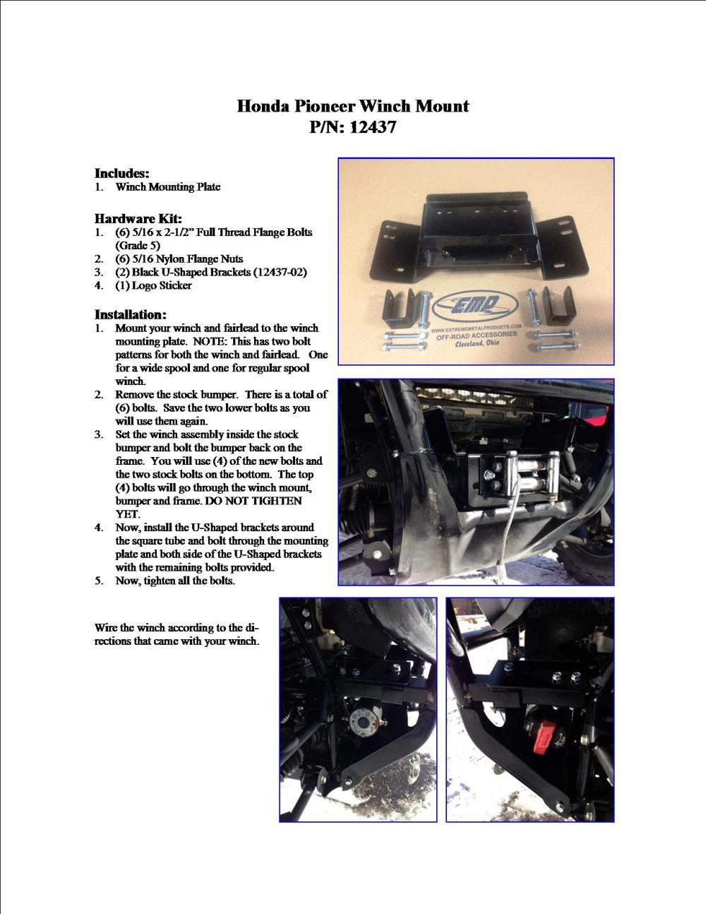 medium resolution of honda pioneer winch wiring block and schematic diagrams u2022 gorilla atv winch wiring schematics at