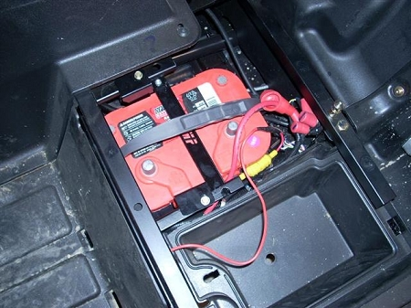 Golf Cart Battery Wiring Diagram Emp Battery Tray For Rzr 2008 2010