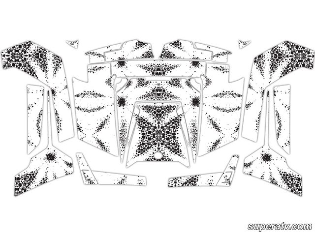 Full Body Abstract Graphic Kits by Super ATV