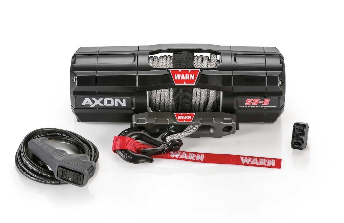 hight resolution of warn axon 5500 s winch