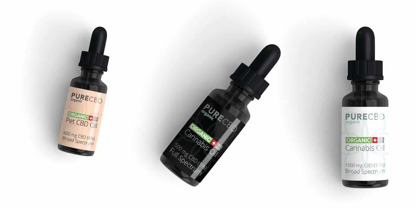 Aceite de CBD España de Pure Organic CBD