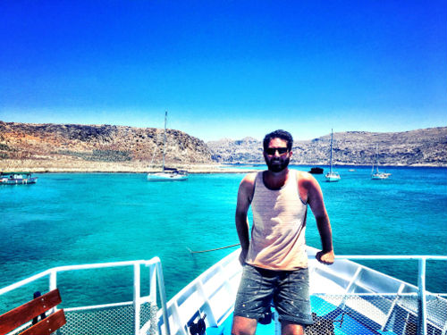 trip to Balos Lagoon and Gramvousa Island