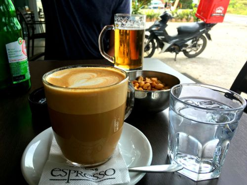 Christos' coffee shop