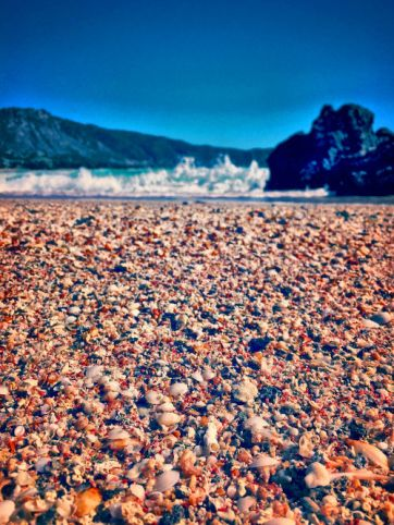 Pink Sands on Elafonisi Beach, Greece
