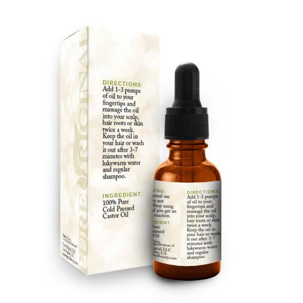 Castor Oil  Pure Original Beauty