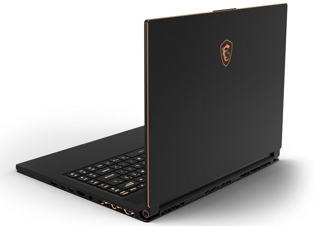 MSI GS65 Stealth Thin - stylowy laptop z Intel Core i7-8750H   PurePC.pl