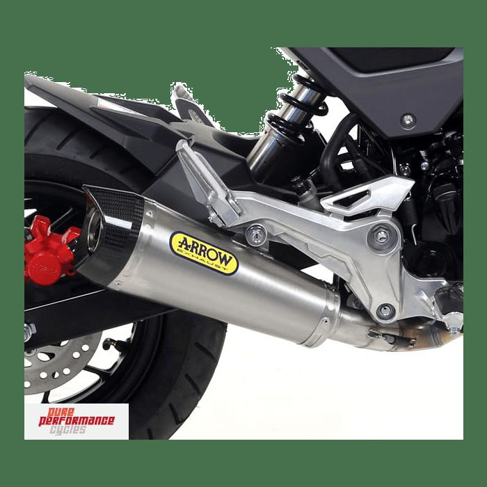 arrow x kone full exhaust system 2016 2017 honda grom