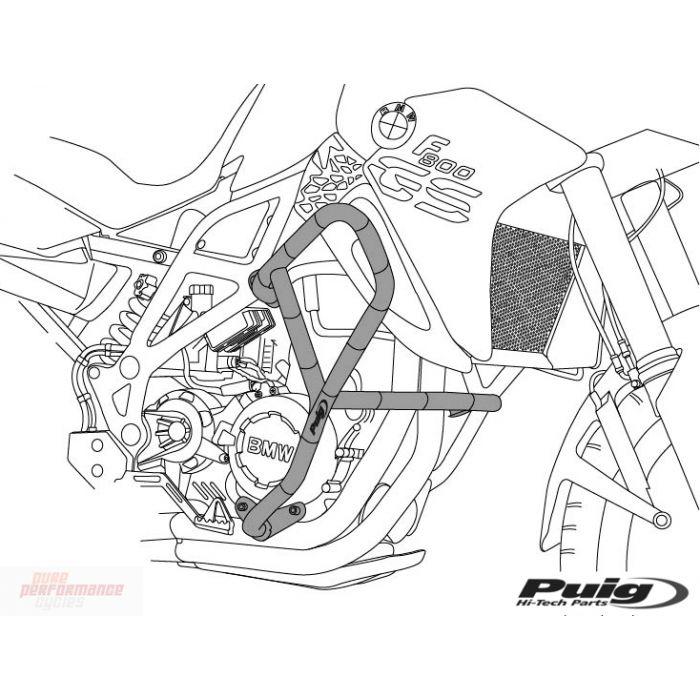 Puig Engine Guards 2013-2015 Honda CB500X