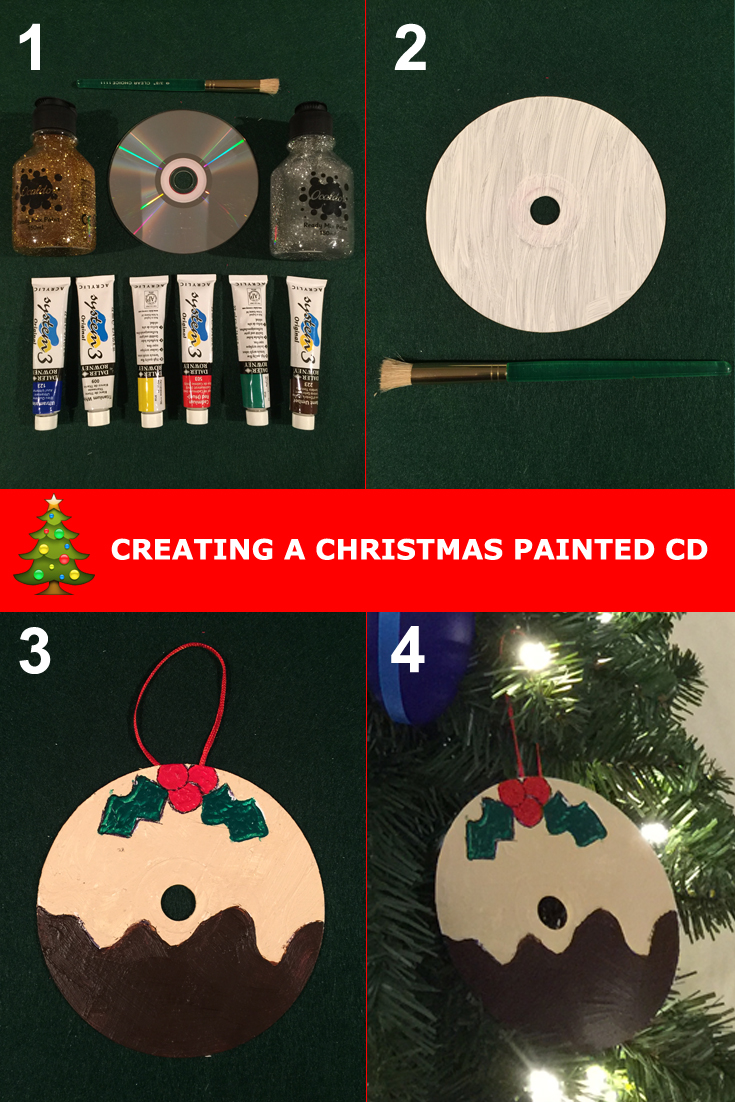 Cd Christmas Decoration Ideas