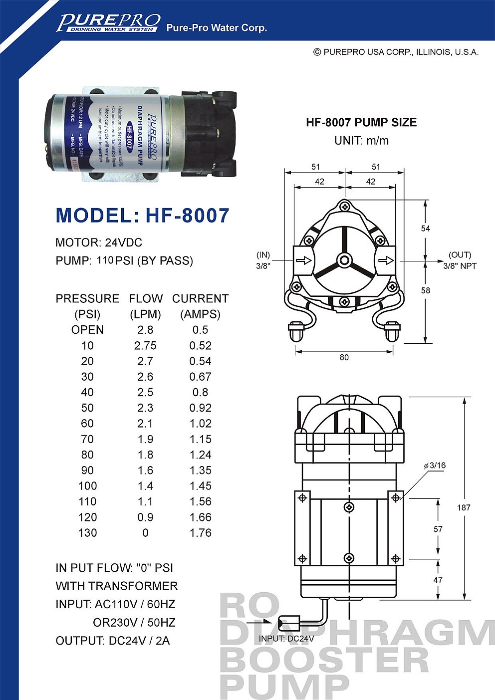 hight resolution of ro booster pump please click here for more information