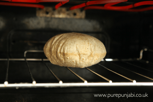 Pure Punjabi roti chapatti making