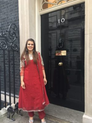 Pure Punjabi Ltd invited to No. 10 Downing Street as part of SmallBiz100 UK
