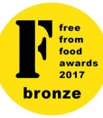 Bronze FreeFrom Food Awards 2017