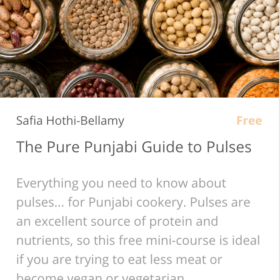 The Pure Punjabi Guide to Pulses free mini-course