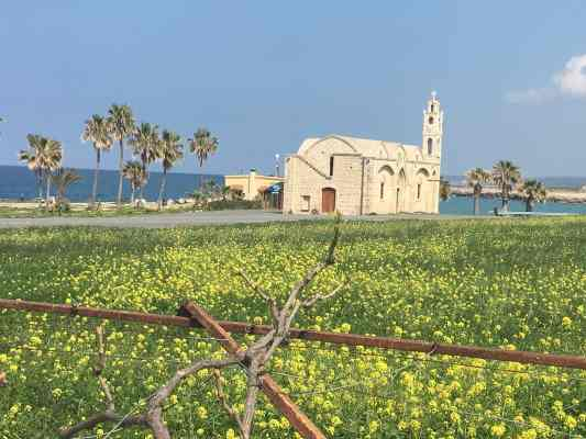 The region of Florya in Northern Cyprus