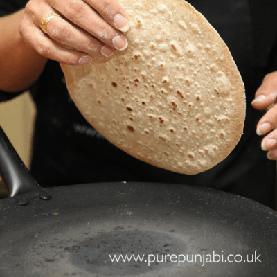 How to make chapattis