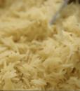 Cooked rice jeera chawl